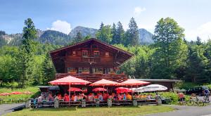 Berggasthaus  Bleckenau - Einkehrziel für Wanderer und Radfahrer